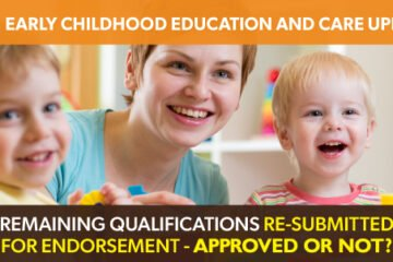Update to the CHC Early Childhood Education and Care training package