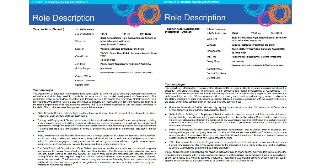 Simulated Business Document